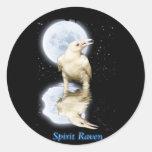SPIRIT RAVEN Series II Round Sticker