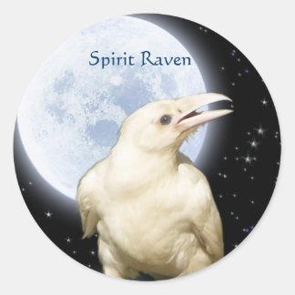 SPIRIT RAVEN, STAR EATER Series Classic Round Sticker