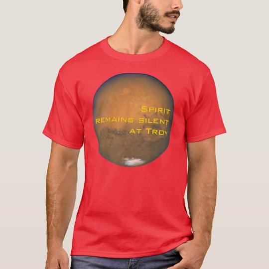 Spirit remains silent at Troy T-Shirt