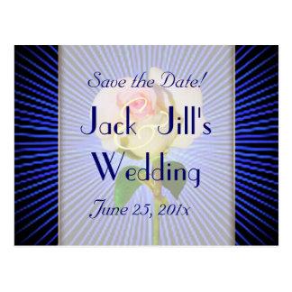 Spirit Rose WEDDING Save-the-Date Postcard