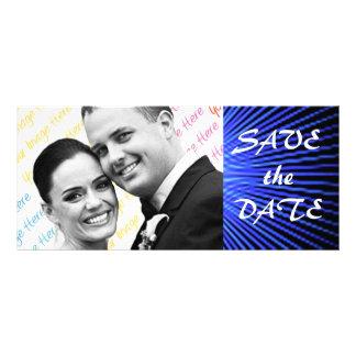 Spirit Rose WEDDING Save-the-Date Rack Card