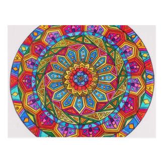 Spirit & Soul, Mandala #10 Postcard