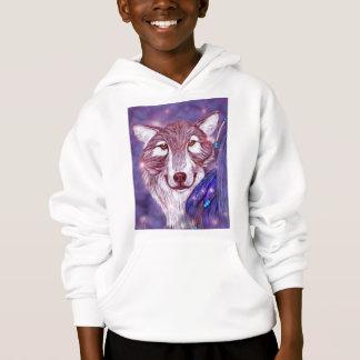 Spirit Walker Wolf Hoodie