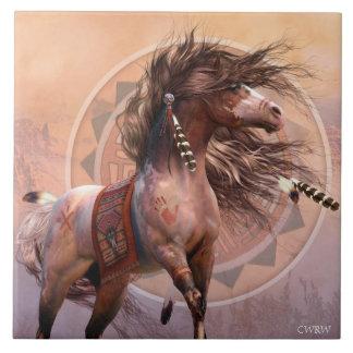 Spirit Warrior Art Tile