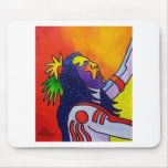 Spirit Warrior by Piliero Mouse Pad
