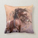 Spirit Warrior Designer Pillow