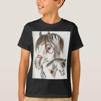 Spirit Warrior Ponies T-Shirt