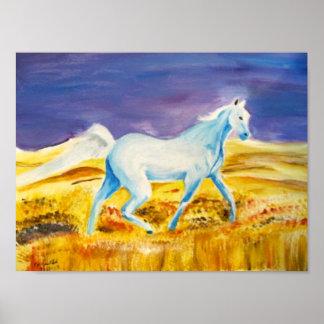 Spirit Water Horse- poster