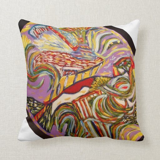 Spirit within pillow