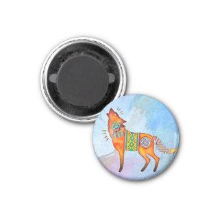 Spirit Wolf Animal Totem Magnet