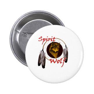 Spirit Wolf Button