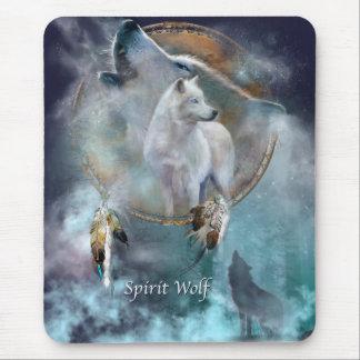 Spirit Wolf Mouse Pad