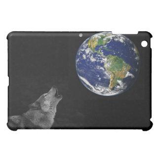 Spirit Wolf Planet iPad Mini Cover