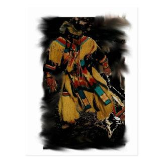 Spirit wolf postcard