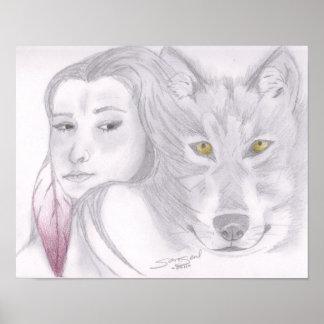 Spirit Wolf Print