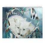 Spirit Wolves 2 Art Calendar