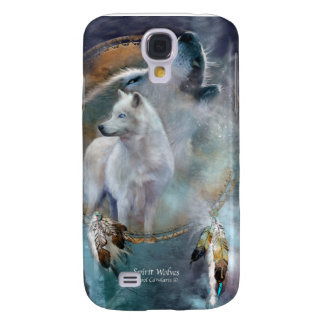 Spirit Wolves Art Case for iPhone3 Galaxy S4 Covers