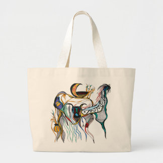 Spirit World Large Tote Bag
