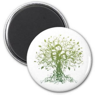 Spirit Yoga 2 Inch Round Magnet