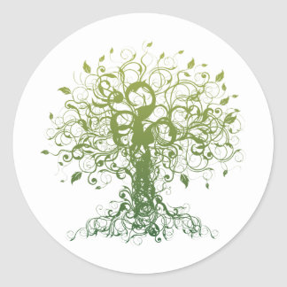 Spirit Yoga Classic Round Sticker