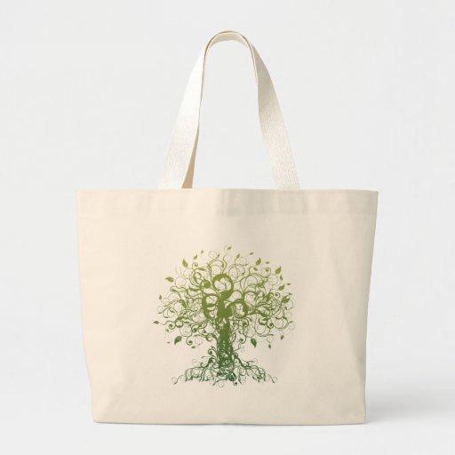 Spirit Yoga Gift Large Tote Bag
