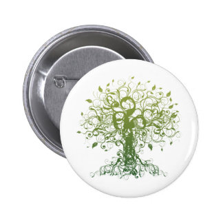 Spirit Yoga Pinback Button
