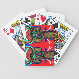 Spirited Double Bull -  ART101 Collection Bicycle Playing Cards