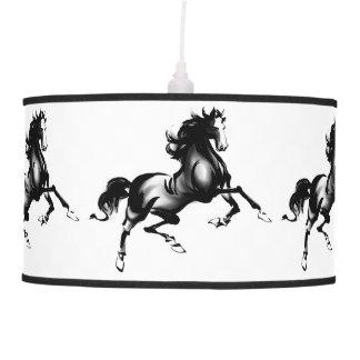 SPIRITED HORSE CEILING LAMP