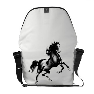 SPIRITED HORSE MESSENGER BAG