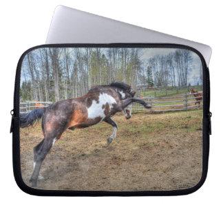 Spirited Pinto Horse Designer #Gift Computer Sleeve