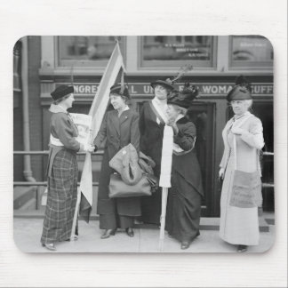 Spirited Suffragettes, 1914 Mouse Pad