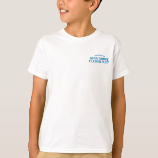 Spiritridge Elementary Kids Basic Tee (White)