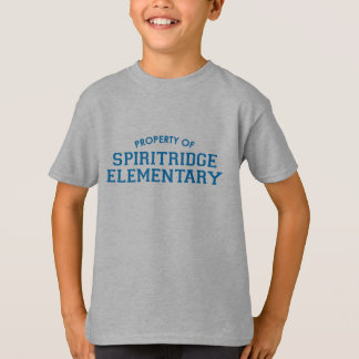 Spiritridge Elementary Kids Tee (Grey)