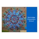 Spiritridge Mosaic Note Card (Blue band)
