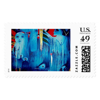 Spirits Dance by Gregory Gallo Stamp