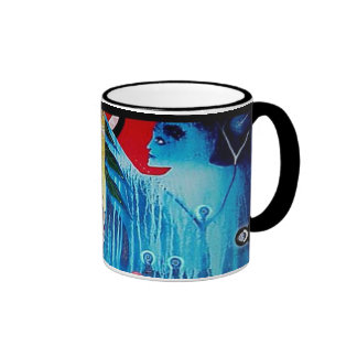 Spirits Dance by Gregory Gallo Ringer Coffee Mug
