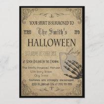 Spirits Halloween Party Invitation