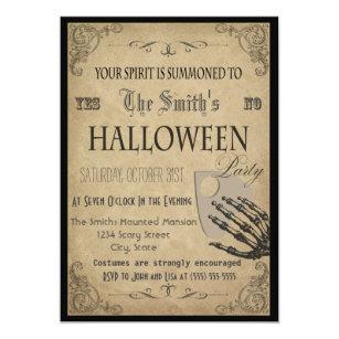 Halloween invitations zazzle spirits halloween party invitation stopboris Images