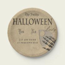 Spirits Halloween Plate