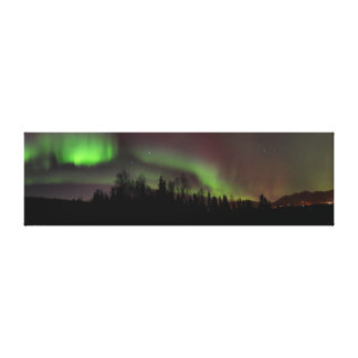 Spirits In The Sky Panoramic Canvas