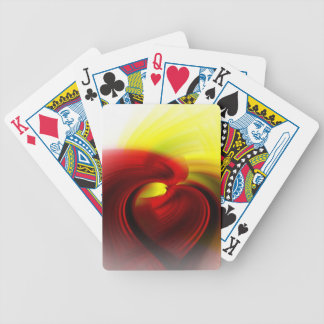 Spirit's Kiss Abstract Playing Cards