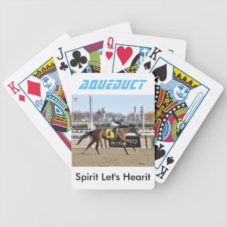 Spirits Let's Hearit & Angel Arroyo Bicycle Playing Cards
