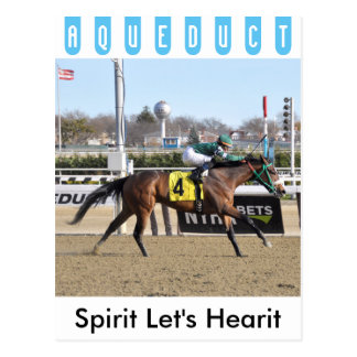 Spirits Let's Hearit & Angel Arroyo Postcard