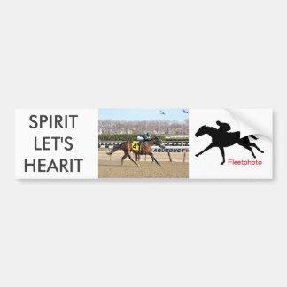 Spirits Lets Hearit Bumper Sticker