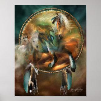 Spirits Of Freedom Art Poster/Print Poster