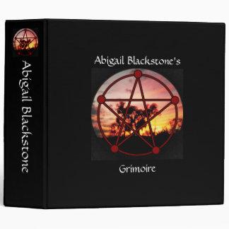 Spirits of Samhain Book of Shadows Grimoire 3 Ring Binder