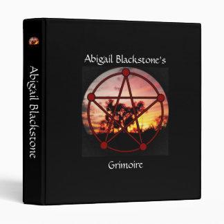 Spirits of Samhain Book of Shadows Grimoire Binder