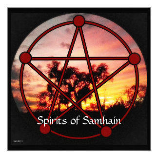 Spirits of Samhain Invites