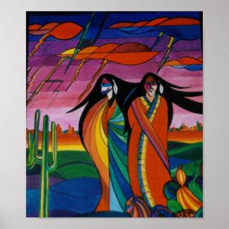 Spirits of the Desert Poster