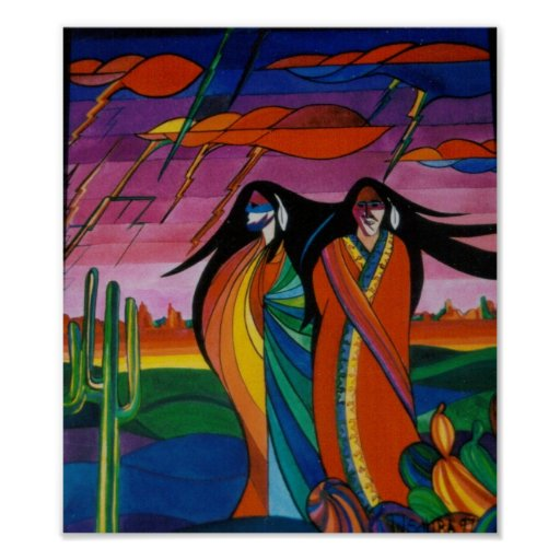 Spirits of the Desert Posters